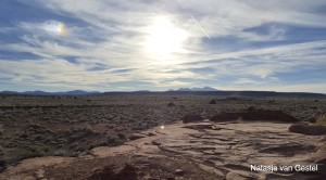 Example of a desert environment north of Flagstaff