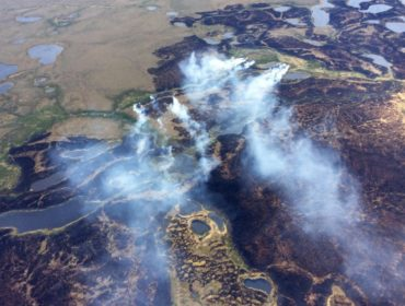 Bogus Fire in the Yukon Delta National Wildlife Refuge in Alaska. Matt Snyder/Associated Press
