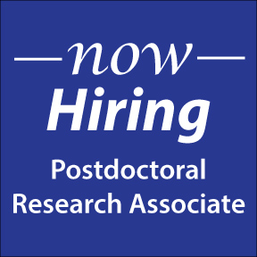now hiring postdoc associate