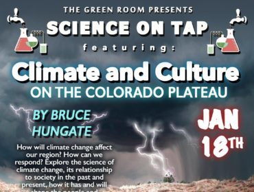 Hungate Science on Tap flyer